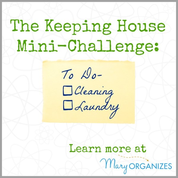 The Keeping House Mini-Challenge