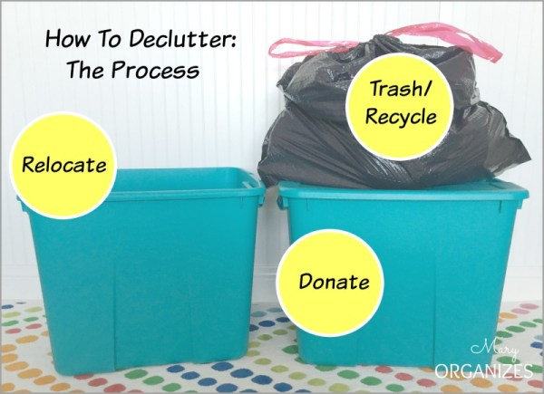 How To Declutter - The Process