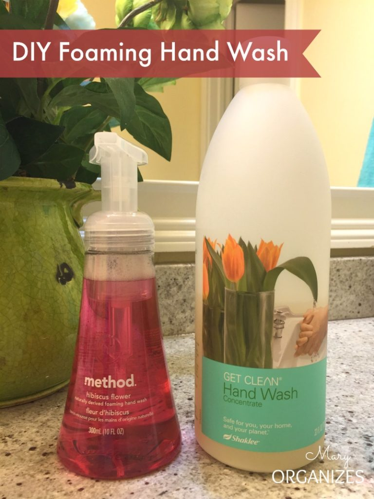 DIY Foaming Hand Wash Ingredients