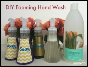 DIY Foaming Hand Wash Recipe
