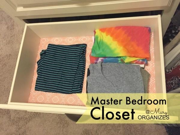 MBR Closet - pajama top drawer