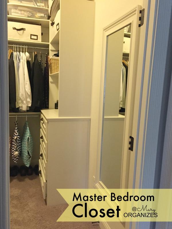 MBR Closet - view into closet