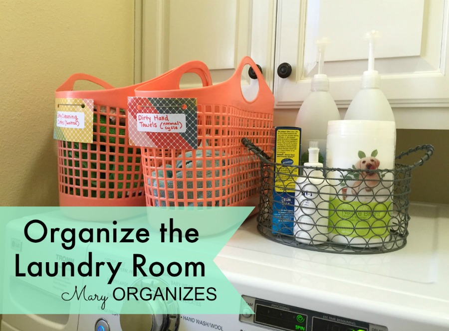 Mary Organizes - Organize the Laundry Room - 12