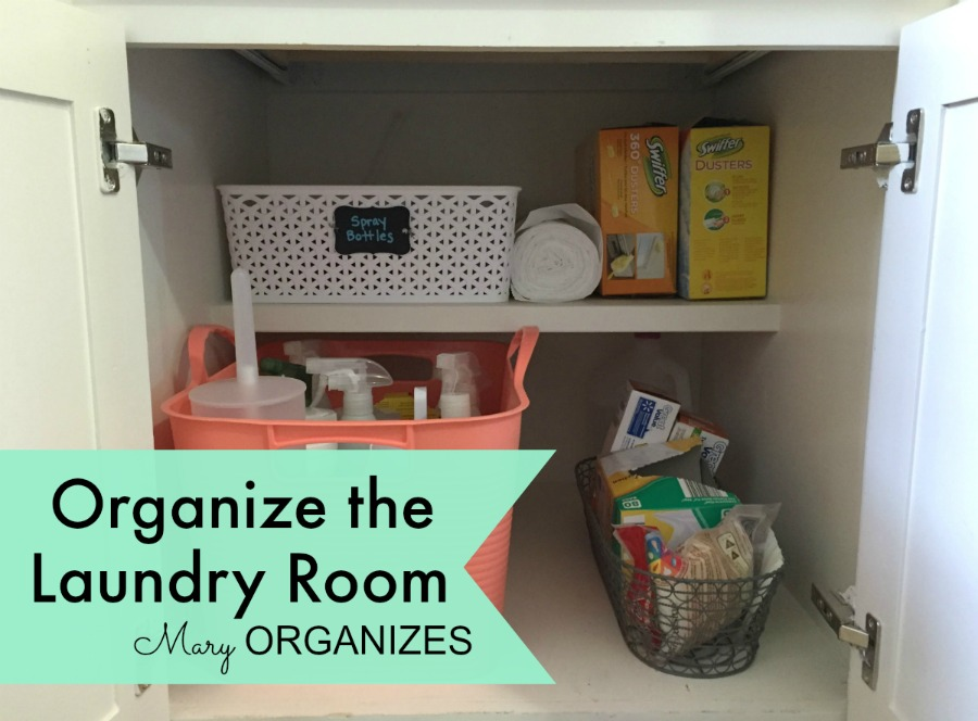 Mary Organizes - Organize the Laundry Room - 7