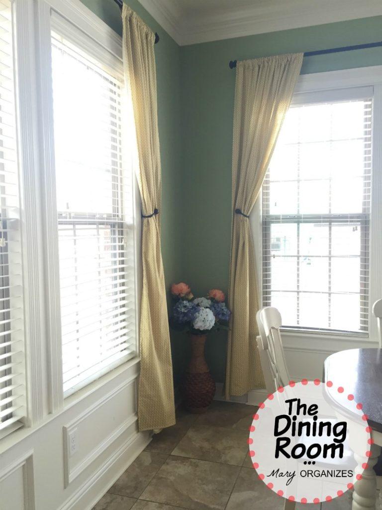The Dining Room - Corner Flowers