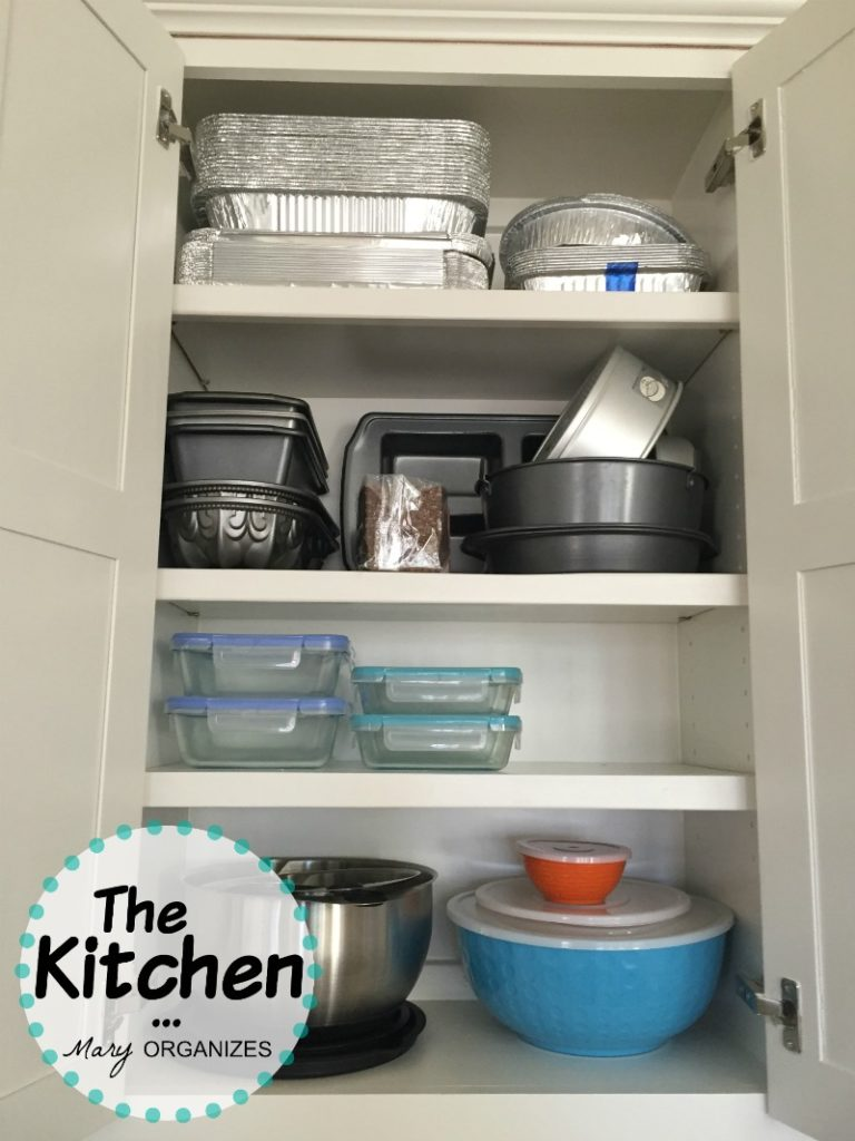 The Kitchen - cupboards