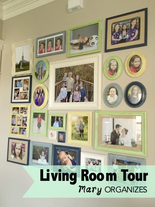 Living Room Tour - the collage