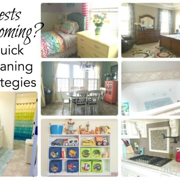 Guests Coming? Quick Cleaning Strategies