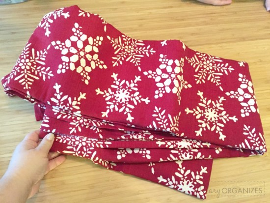 Pillow Covers - Festive Tablecloth as cheap fabric