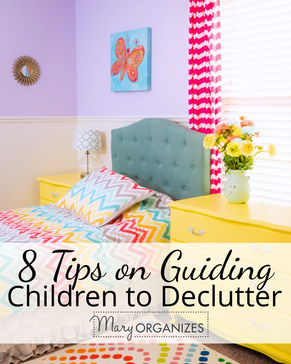 8 Tips on Guiding Children To Declutter