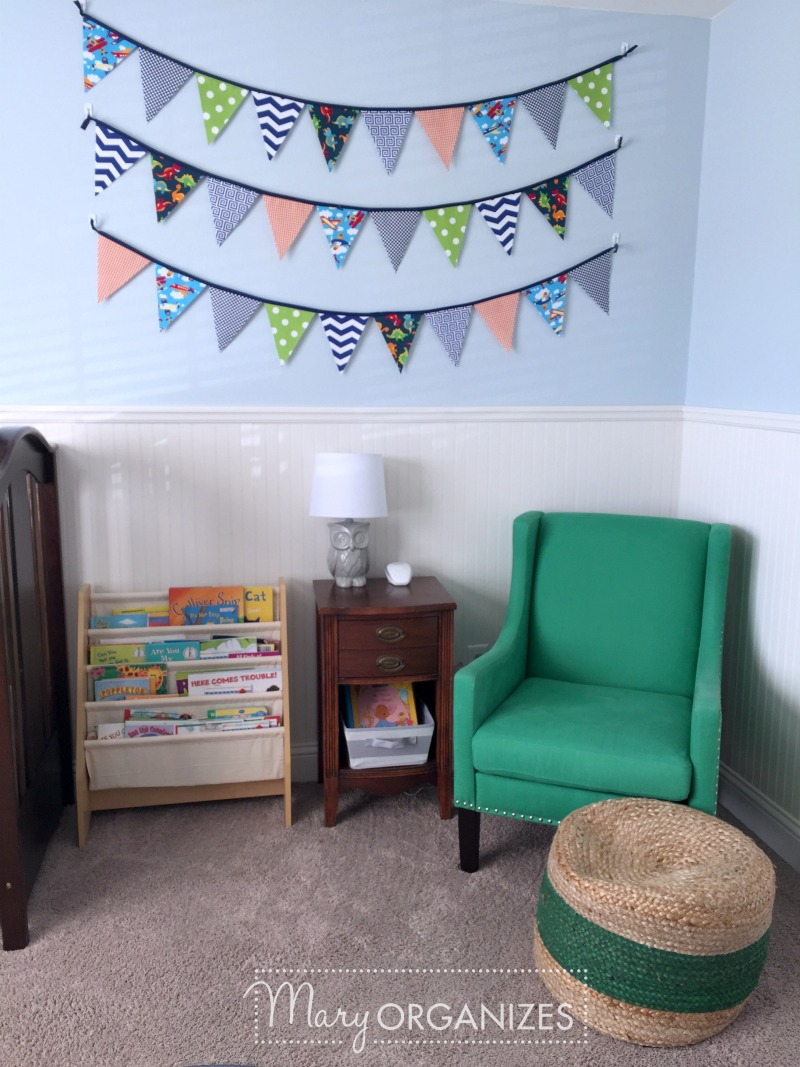 Boys Room Tour - Reading Nook