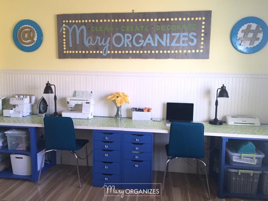 Tour my Mary ORGANIZES Studio - 13
