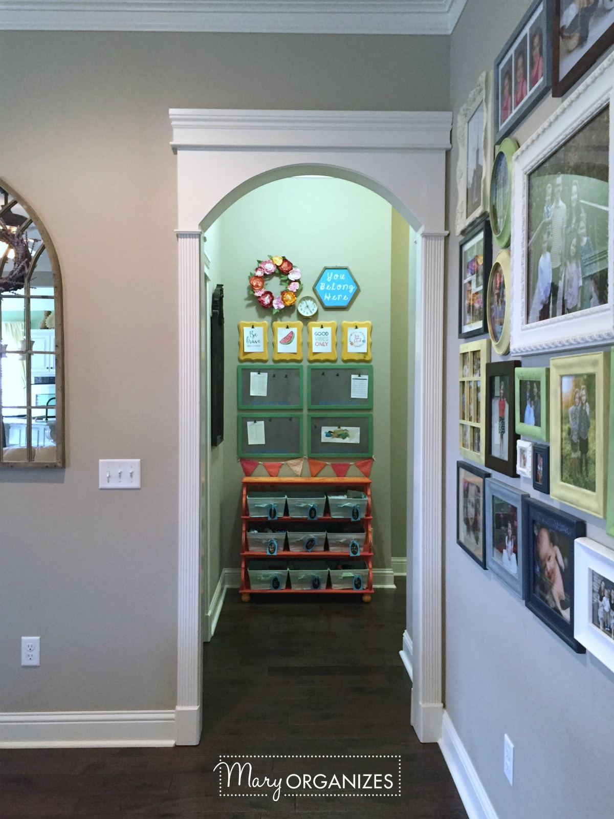 Kids Command Center - for hanging chore lists and more 1
