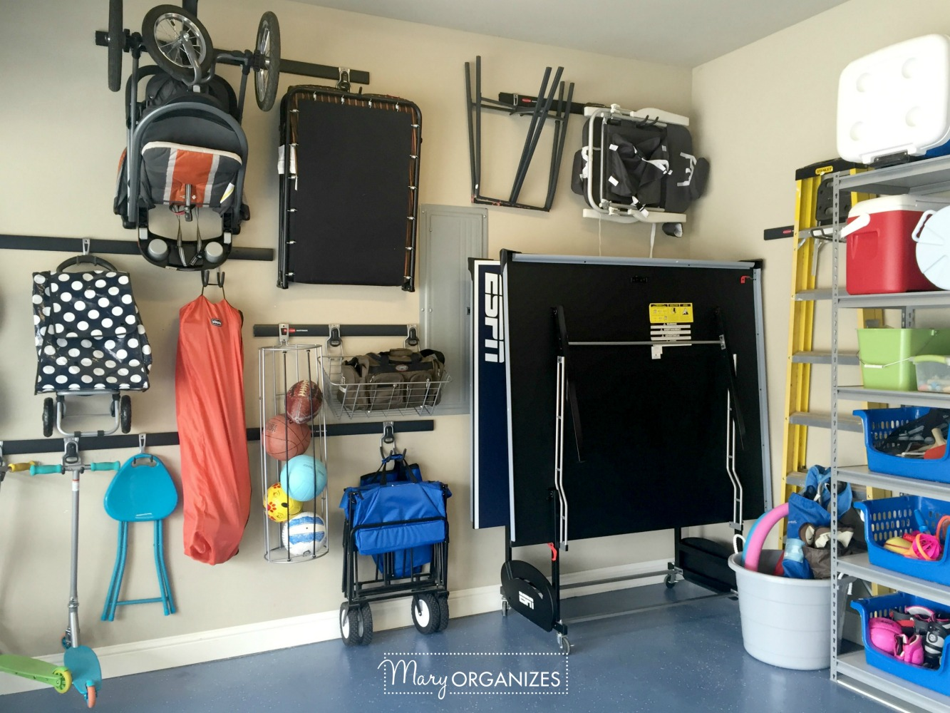 My Re-Organized Garage Reveal 5