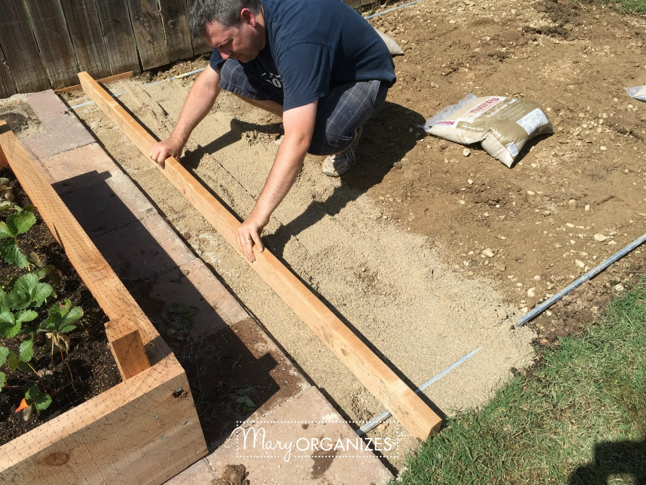 How To Install Paver Patio - My Raised Garden Foundation 10