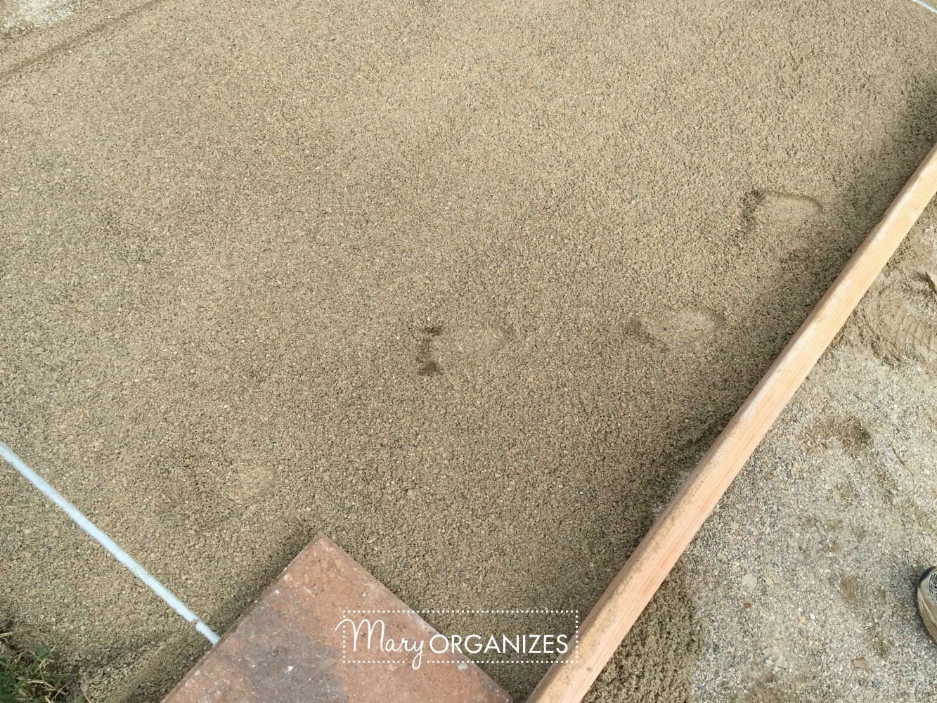 How To Install Paver Patio - My Raised Garden Foundation 8
