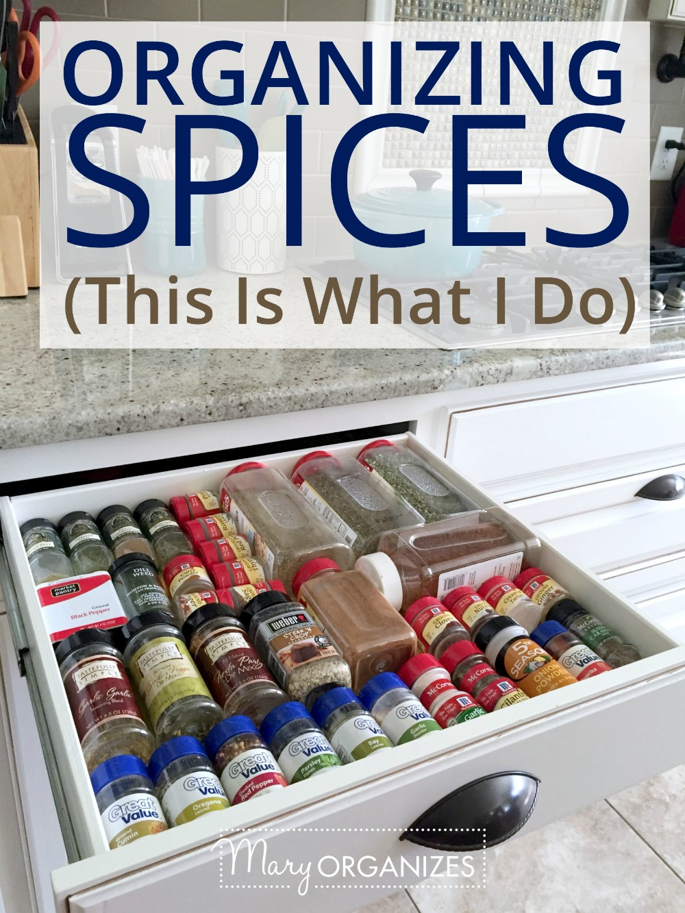 Organizing Spices - This is What I Do -v