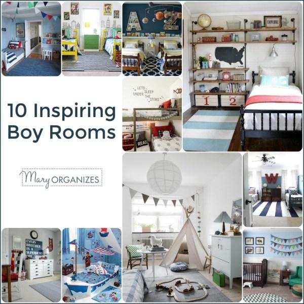 10 Inspiring Boy Rooms