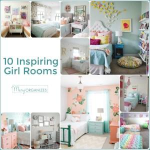10 Inspiring Girl Rooms