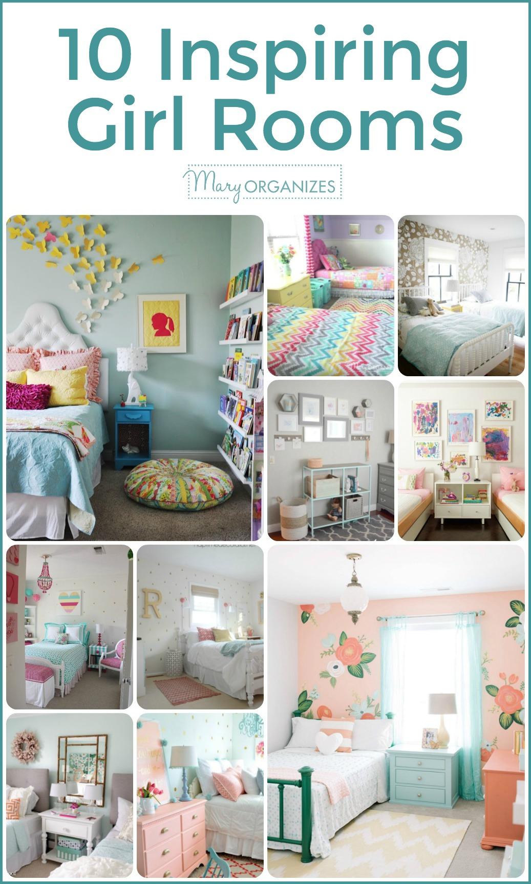 10 Inspiring Girl Rooms -v