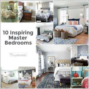 10 Inspiring Master Bedrooms