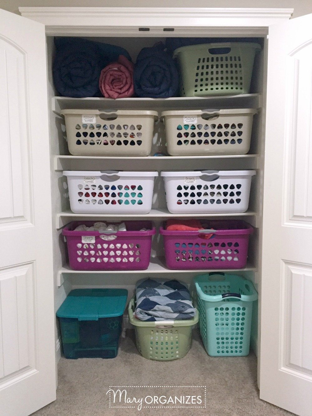 Peek Inside My Linen Closet Update 1