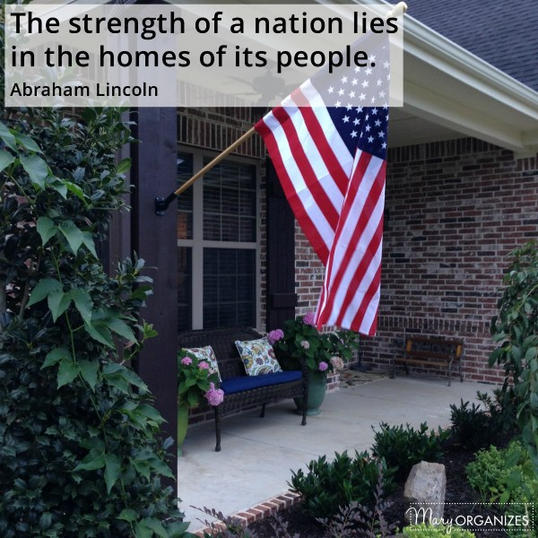 Your Home Is The Strength of the Nation
