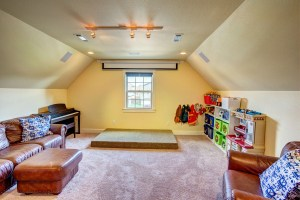 Tour my Playroom-Family Room-Movie Theatre (all-in-one room)