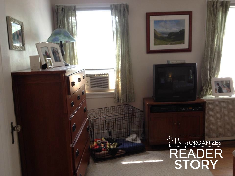 reader story - bedroom corner after