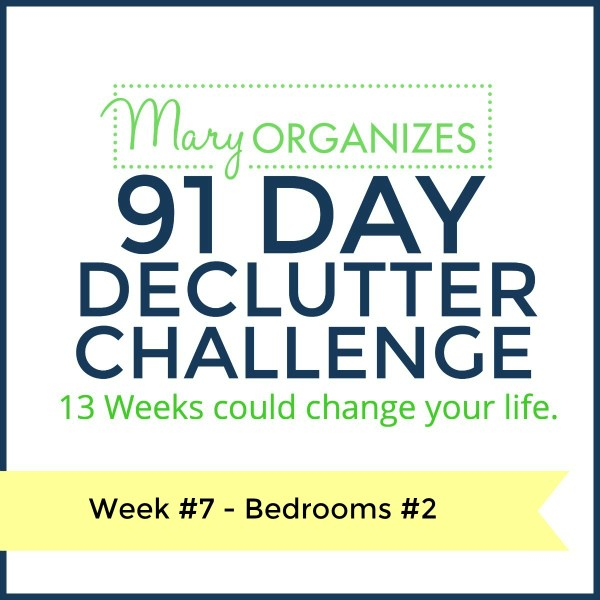 Week 7 – Bedroom #2 {91 Day Declutter Challenge}