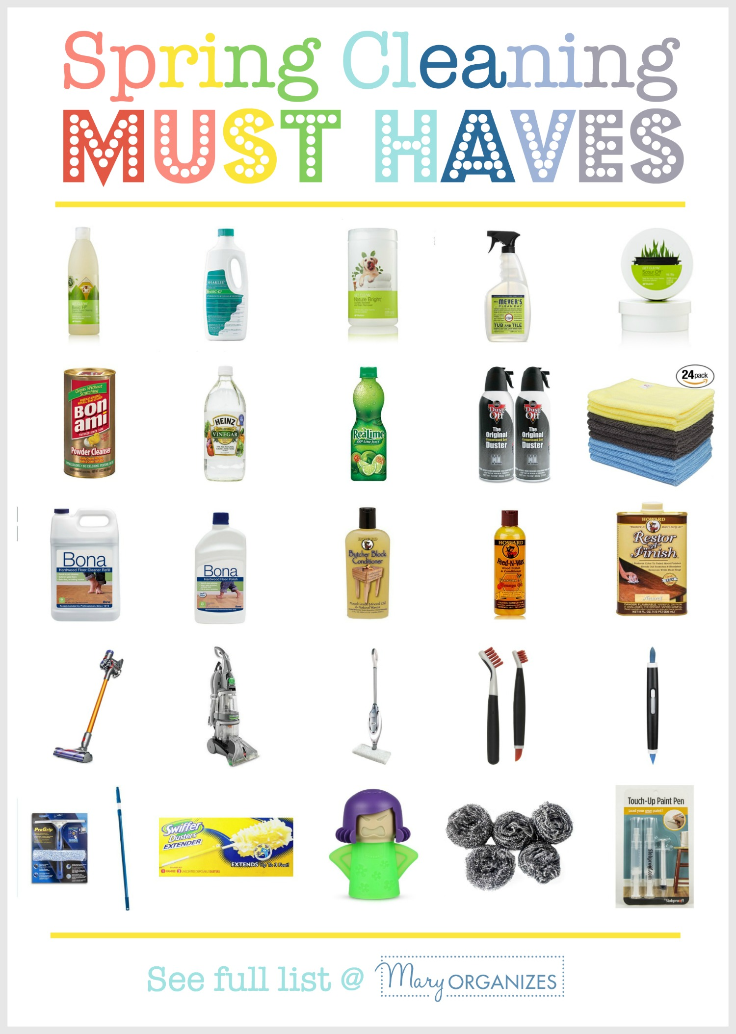 Spring Must Have Items: Spring Cleaning MUST HAVES