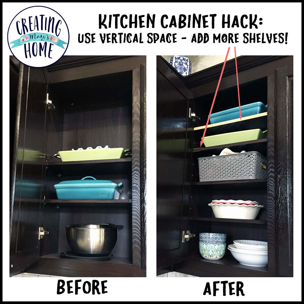 Lovely In This Cabinet, I Wanted A Shelf For Lids. I Have A Lot Of Bowls, And Most  Of Them Have A Lid. We Added A Shelf Lid And It Is Awesome!