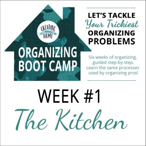 Organize Your Kitchen {OBC WEEK 1}