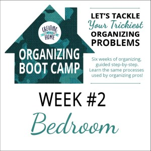 Organize A Bedroom {OBC WEEK 2}
