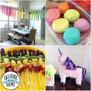 Party Plan – Unicorns & Rainbows