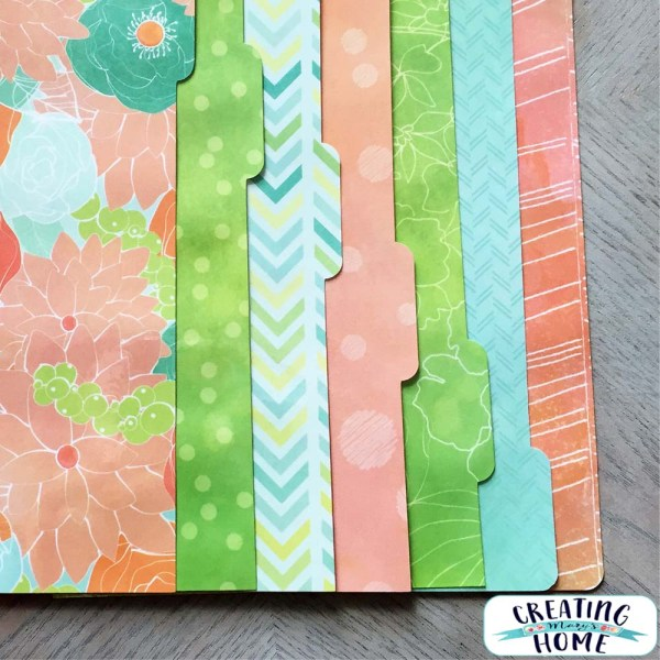 DIY Tab Dividers Tutorial