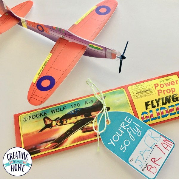 """Valentines Printable """"You're So Fly!"""" {Airplane Theme}"""