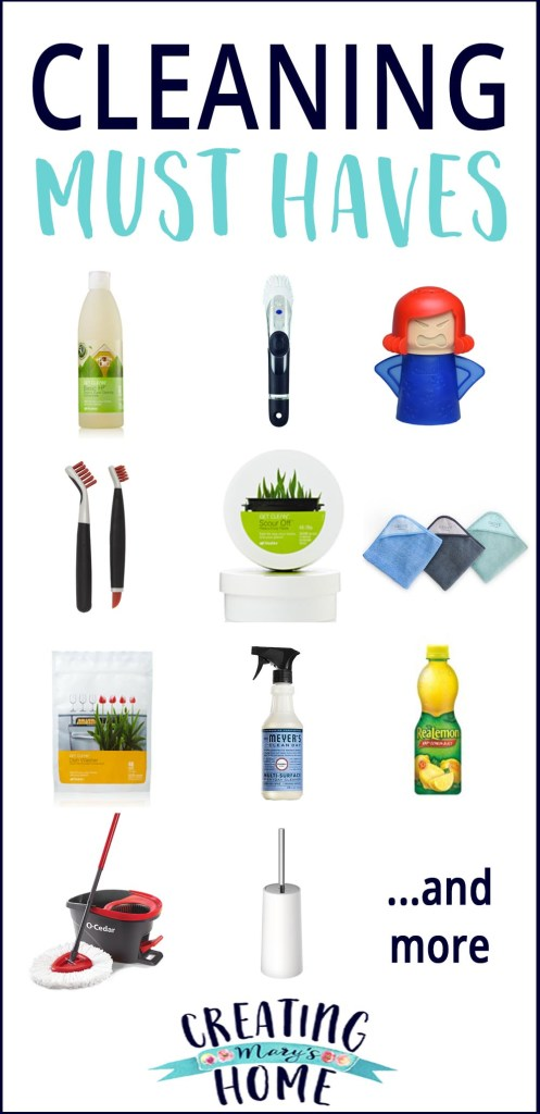 Cleaning Must Haves Creatingmaryshome Com