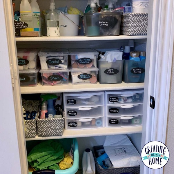 The Cleaning Supply Closet
