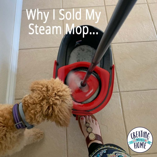 Why I Sold My Steam Mop …