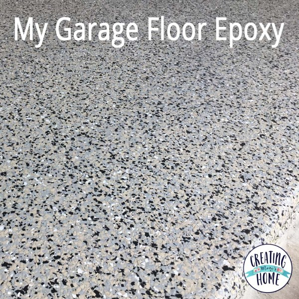 My Epoxy Garage Floor