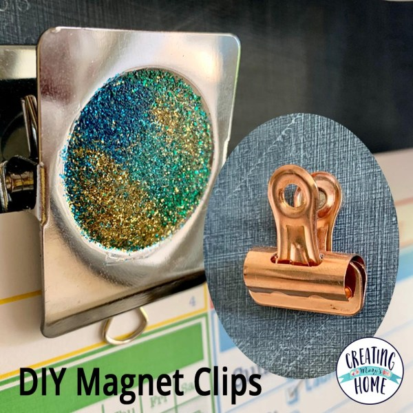 DIY Magnet Clips