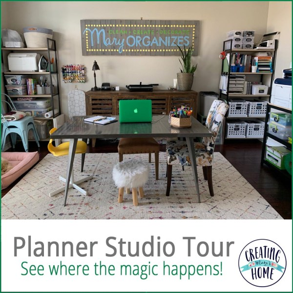 Planner Studio Tour (and why I don't mass-produce my planners)