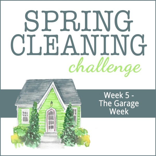 Spring Cleaning Week 5: Garage Week