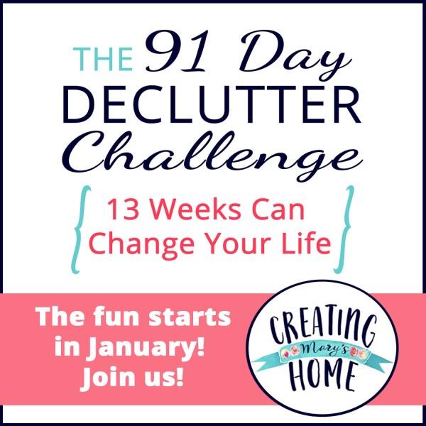 2021 Declutter Challenge
