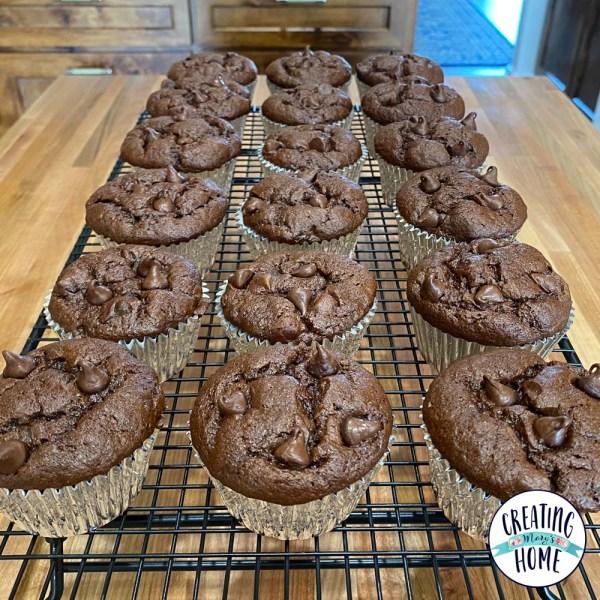 The Best Chocolate Muffins (gluten free)