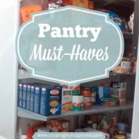 Pantry Must-Haves