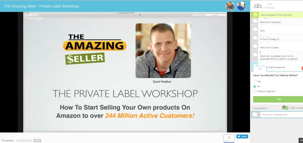 Attending a Private Label Workshop