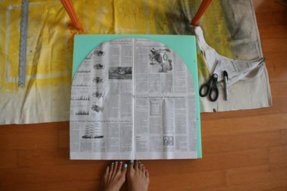 cutting foam for chair