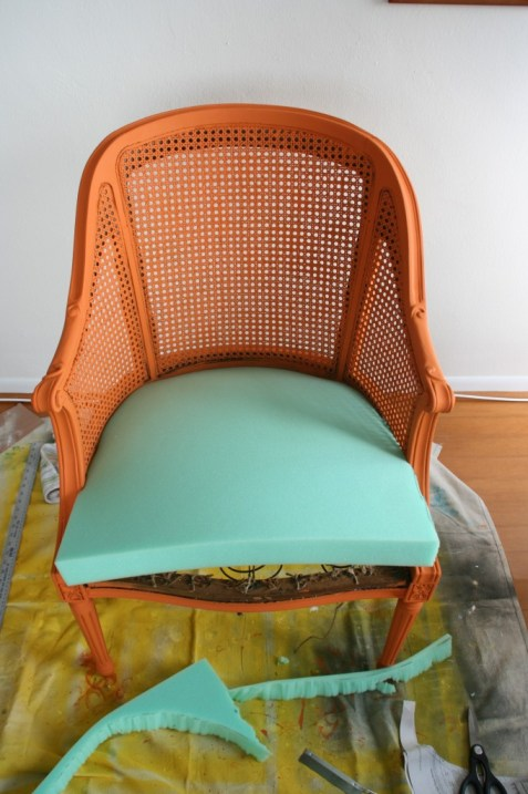 foam for chair